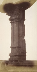 Close view of column from the Pattabhirama Temple, near Kamalapuram, Vijayanagara
